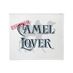 Camel Lover Throw Blanket
