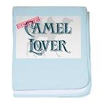 Camel Lover baby blanket