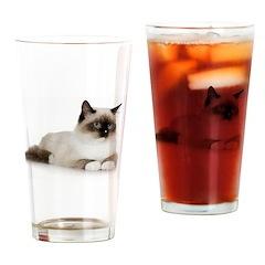 Siamese Cat Pint Glass