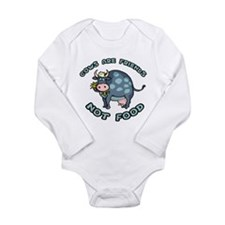 Cows Are Friends Long Sleeve Infant Bodysuit