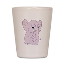 Cute Cartoon Elephant Shot Glass