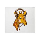 Giraffe Fleece Blankets