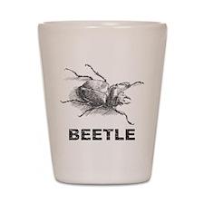 Vintage Beetle Shot Glass