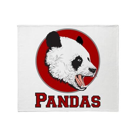 Pandas Throw Blanket