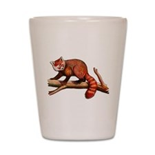 Red Panda Shot Glass
