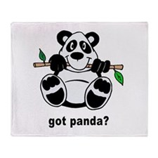 Got Panda? Throw Blanket