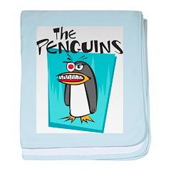 The Penguin baby blanket