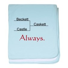 Beckett Castle Caskett Always baby blanket
