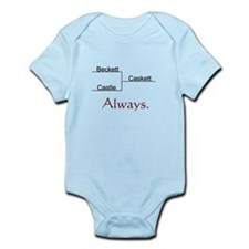 Beckett Castle Caskett Always Infant Bodysuit