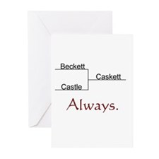 Beckett Castle Caskett Always Greeting Cards (Pk o