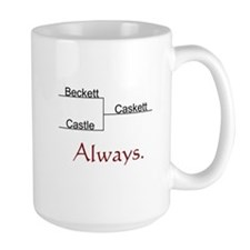 Beckett Castle Caskett Always Large Mug