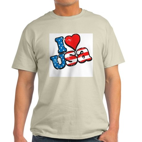 I Love USA Light T-Shirt