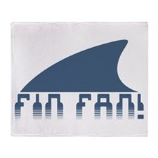 Fin Fan Throw Blanket