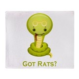 Got Rats? Throw Blanket
