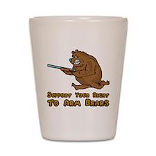 Arm Bears Shot Glass