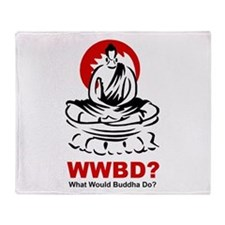 What Would Buddha Do? Throw Blanket