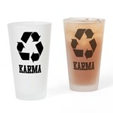 Karma Pint Glass