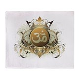Stylish Om Throw Blanket