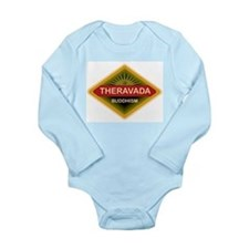 Theravada Buddhism Long Sleeve Infant Bodysuit