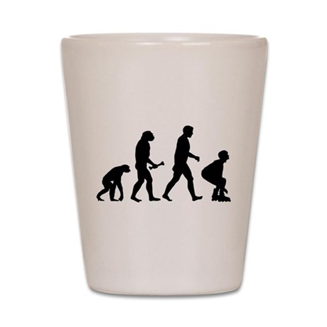 Evolution Skating Shot Glass