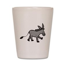 Cute Donkey Shot Glass