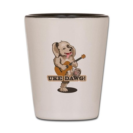 Uke Dawg! Shot Glass