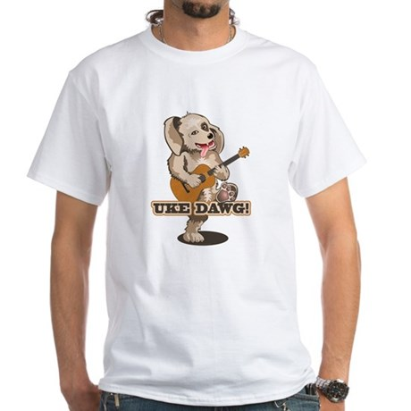 Uke Dawg! White T-Shirt