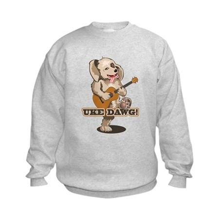 Uke Dawg! Kids Sweatshirt