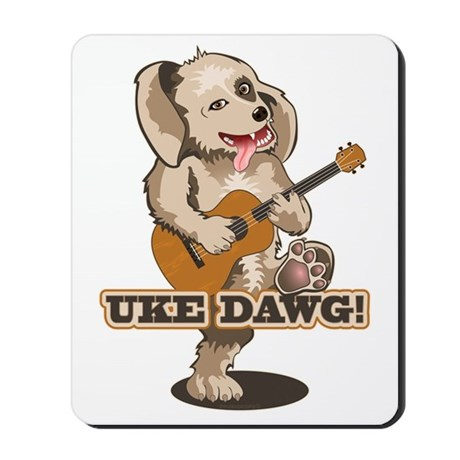 Uke Dawg! Mousepad