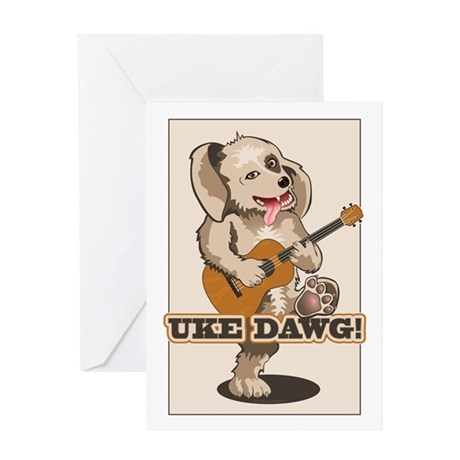 Uke Dawg! Greeting Card
