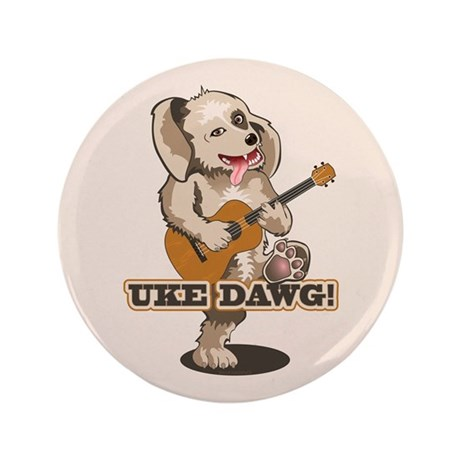 Uke Dawg! 3.5&quot; Button (100 pack)