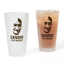 Gandhi Homeboy Pint Glass