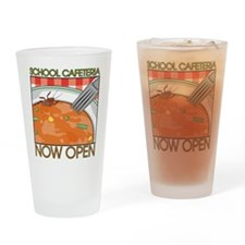 School Cafeteria Pint Glass