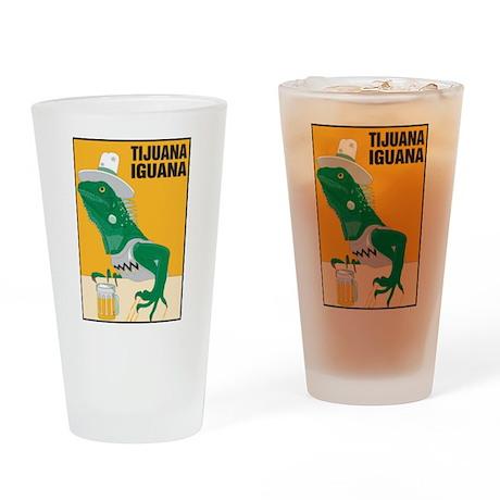 Tijuana Iguana Pint Glass