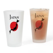 Map Of Japan Drinking Glass
