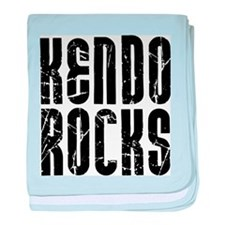 Kendo Rocks baby blanket