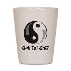 Got Tai Chi Shot Glass