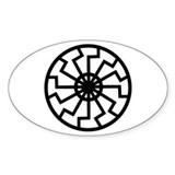 Black Sun Emblem Decal