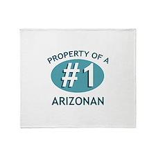 #1 Arizonan Throw Blanket
