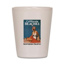Logan California Beaches Shot Glass