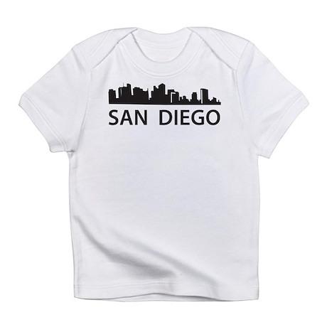 San Diego Skyline Infant T-Shirt