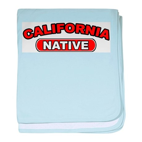 California Native baby blanket
