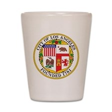 Los Angeles Seal Shot Glass