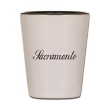 Vintage Sacramento Shot Glass