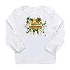Palm Tree Colorado Long Sleeve Infant T-Shirt