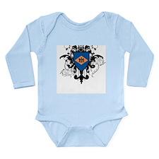 Stylish Delaware Long Sleeve Infant Bodysuit
