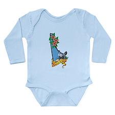 Delaware Long Sleeve Infant Bodysuit