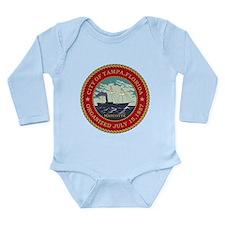 Tampa Seal Long Sleeve Infant Bodysuit