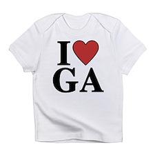 I Love Georgia Infant T-Shirt