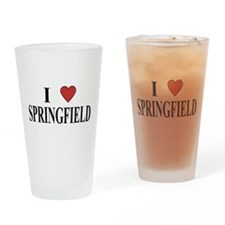 I Love Springfield Pint Glass